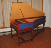 German Double Harpsichord