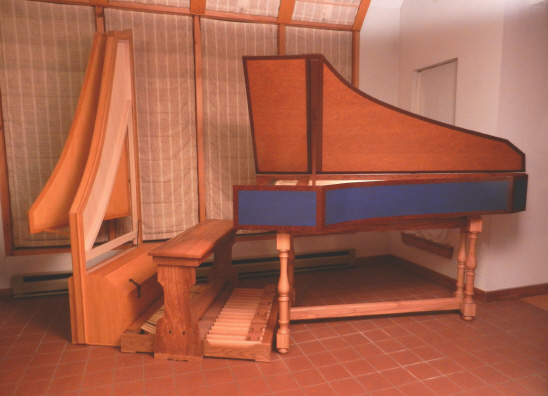 Pedal Harpsichord For Sale