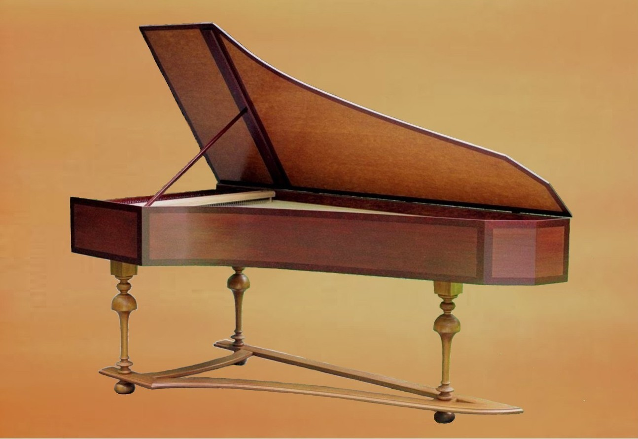 German Single Harpsichord