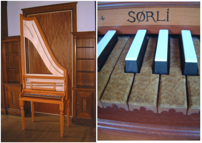 Harp Clavichord for Sale
